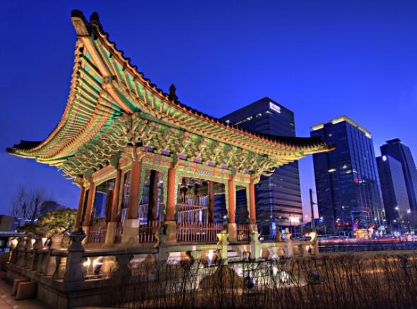дешевые авиабилеты в Корею