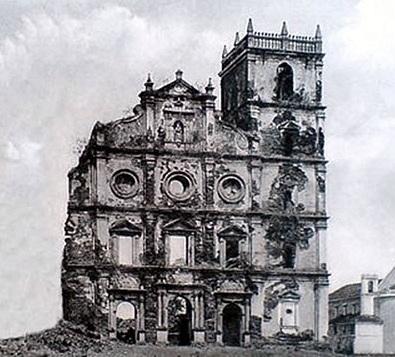 Старый Гоа - Башня церкви Святого Августина