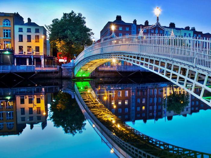 Дешевые авиабилеты в Дублин, Ирландию