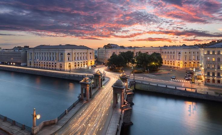 Дешевые авиабилеты по России в Санкт-Петербург, Питер
