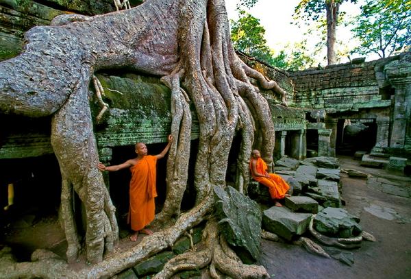 Дешевые авиабилеты в Камбоджу, Ангкор-Ват, Сием-Рип, Пном-Пень