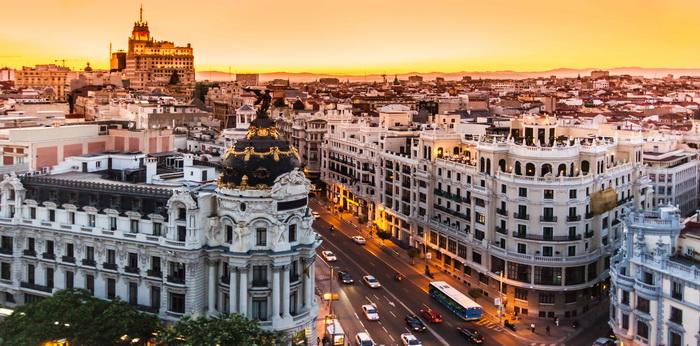 дешевые авиабилеты в Мадрид, Испанию