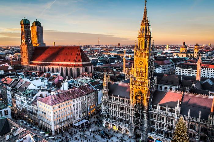 Дешевые авиабилеты в Мюнхен, Германию